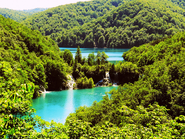 Plitvice Lakes - Kosjak and Milanovac Lakes